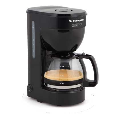 Cafetera De Goteo Orbegozo Cg4014 6t Negra