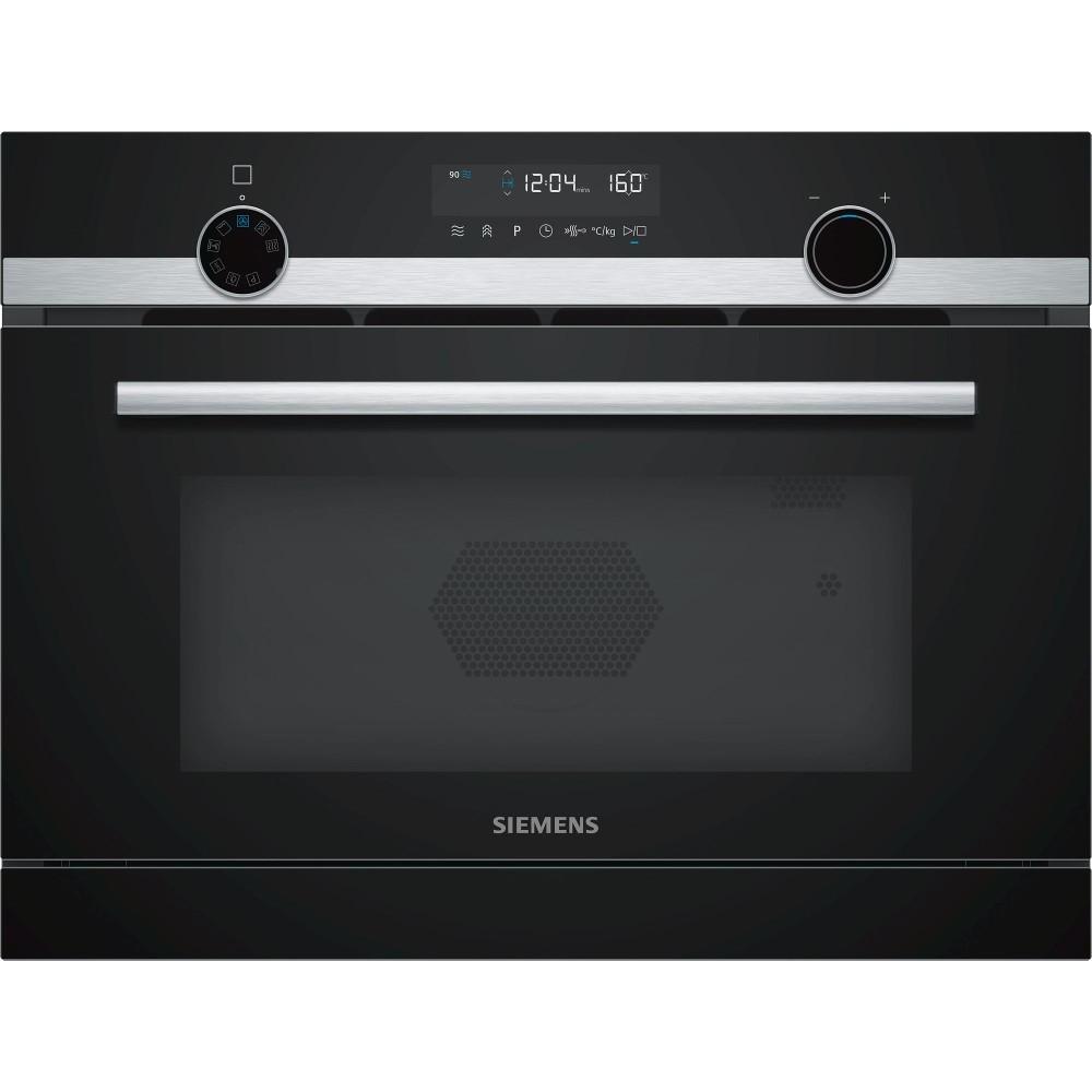 Horno Siemens Cp565ags0 Independiente Multif Compacto Cristal Negro Inox