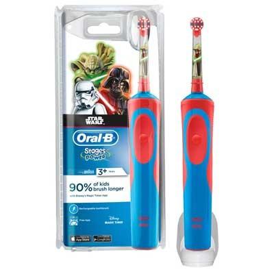 Cepillo Dental Braun Oral-B D12 Stages Star Wars