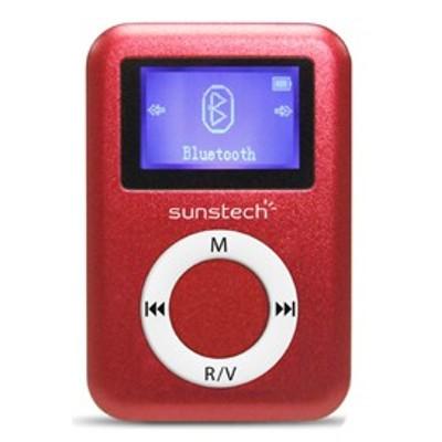 Mp3 4gb Sunstech Dedalo2bt4gbrd Bluetooth Rojo