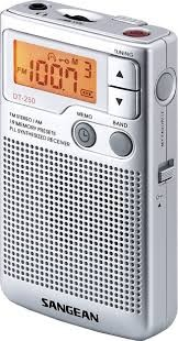 Radio Am-Fm Digital Sangean Dt-250