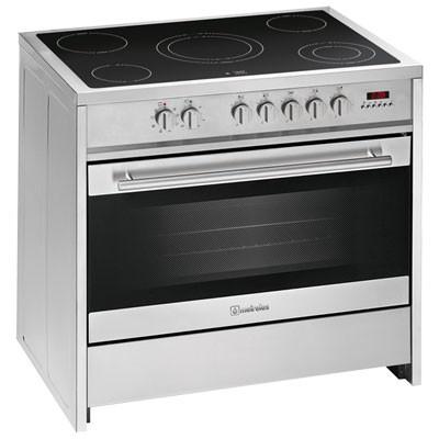 Cocina Vitro Meireles E912x 5f 90cm Inox