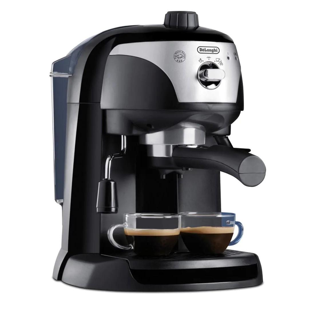 Cafetera Express Delonghi Ec221b Negra/Gris