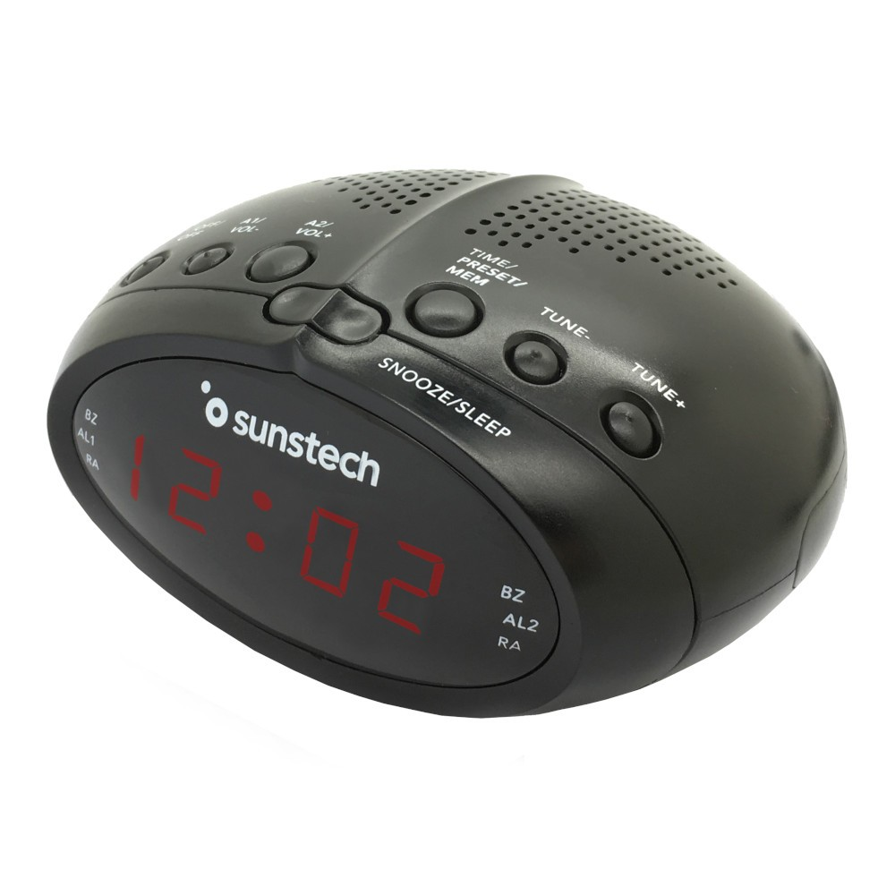 Radio Despertador Sunstech Frd17bk Negro