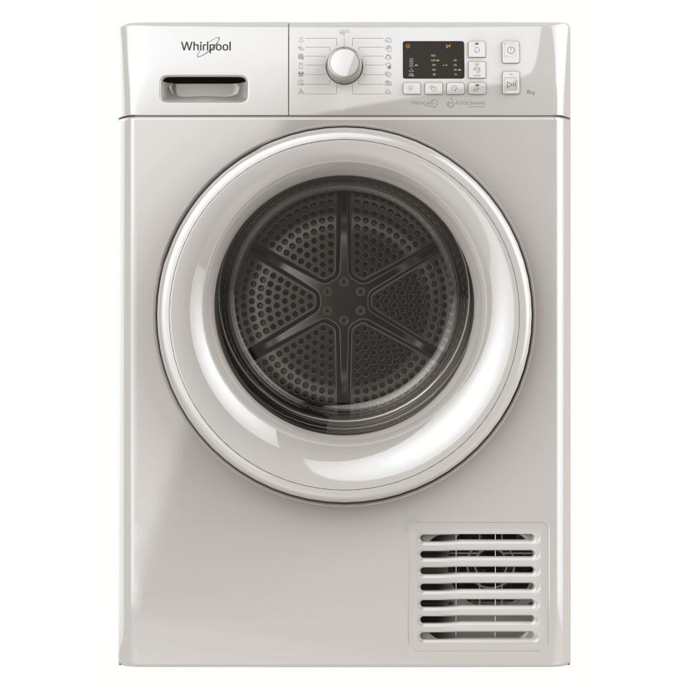 Secadora Cond Whirlpool Ftm1081yeu 8kg Blanca A+