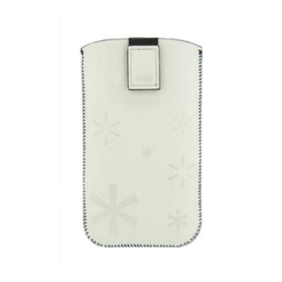 Funda 4-Ok Color Para Samsung Galaxy S3/S4 Blanca