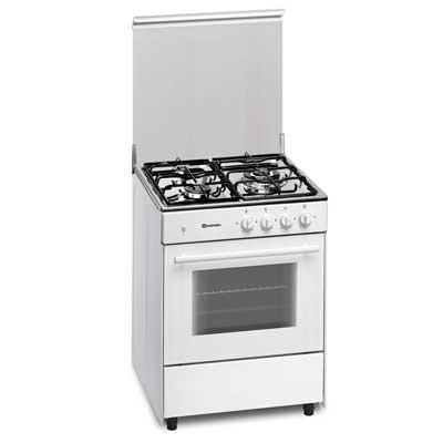 Cocina Gas Meireles G603w 3f 60x60cm Blanca But