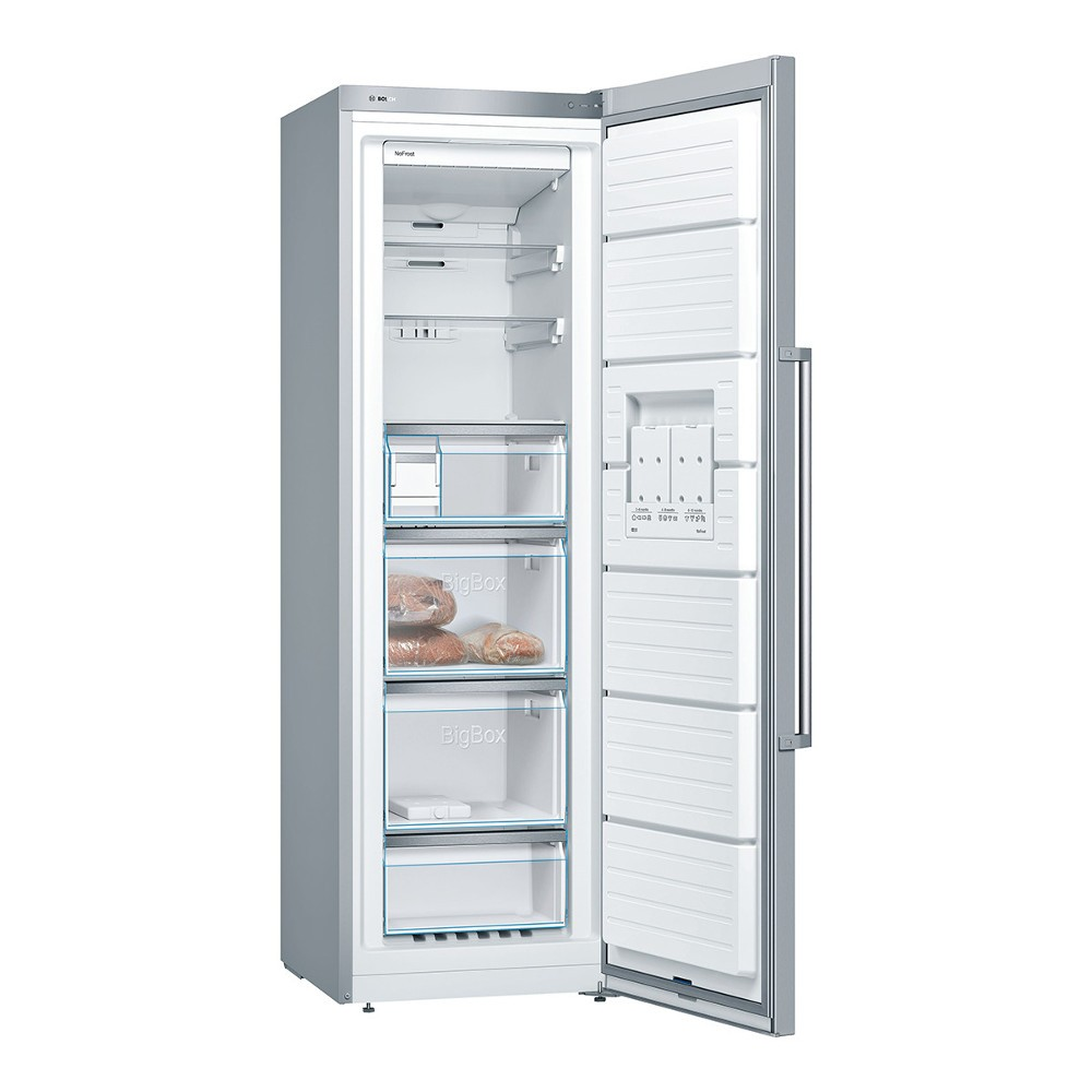 Congelador V Bosch Gsn36bi3p 186cm Nf Inox A++