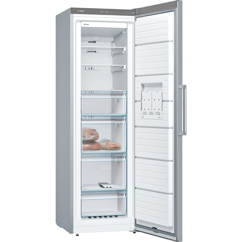 Congelador V Bosch Gsn36vi3p 186cm Nf Inox A++
