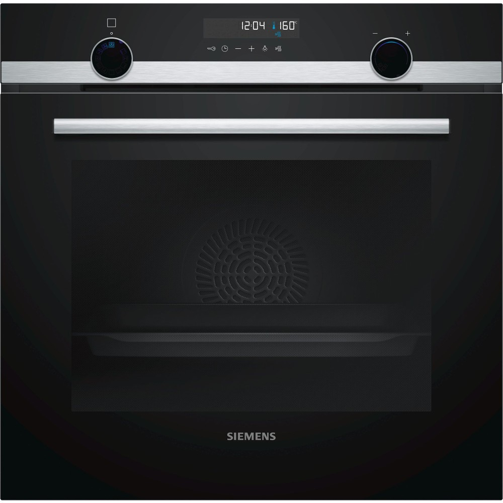 Horno Siemens Hb578g0s00 Independiente Multifuncion Pirolitic Cristal Negro