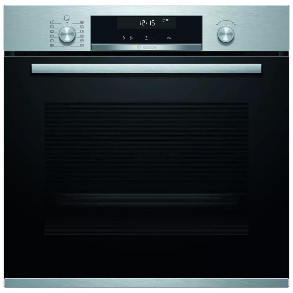Horno Bosch Hbg5780s6 Independiente Multifuncion  Pirolitico Negro/Inox A