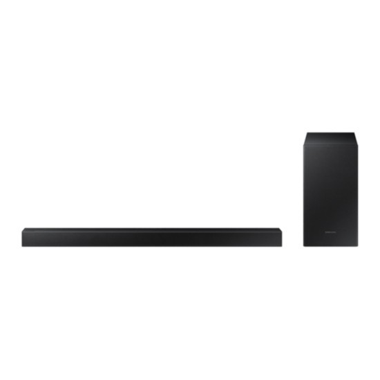 Barra Sonido Samsung Hw-T420/Zf 150w Subwoofer Con Cable