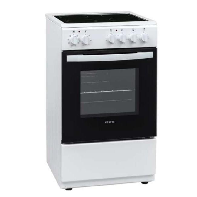 Cocina Vitro Hyundai Hycov350b 50cm 3f Blanca