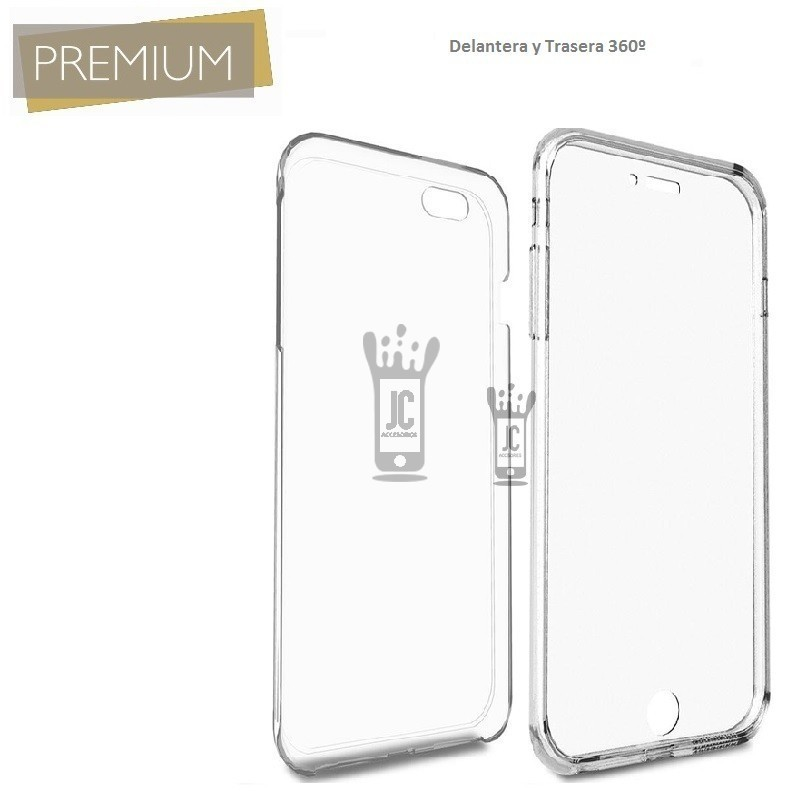 Funda Movil Jc Xiaomi Redmi 7a Doble 360 Premium Transparente