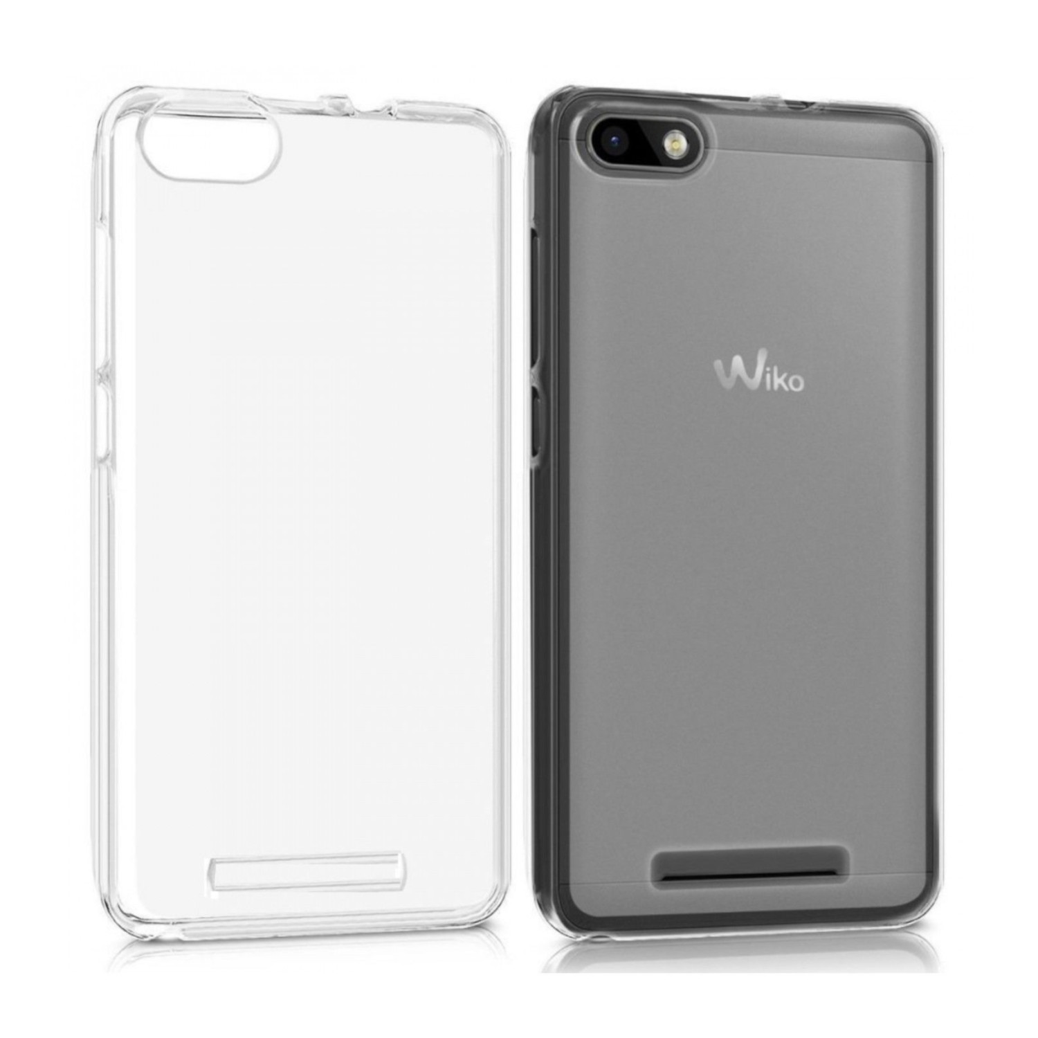 Funda Movil Jc Wiko Sunny 2 Silicona Mate Transparente