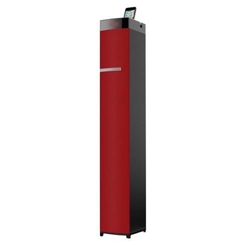 Altavoz Torre Sakkyo Kastor Bluetooth Usb 60w Rms Rojo