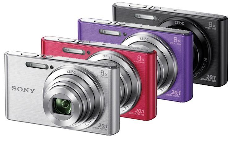 Camara Fotos Sony Kit Dscw830pb Rosa 20.1mp 27.1m
