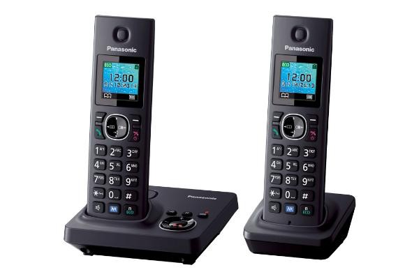 "Telefono Inal Panasonic Kx-Tg7852spb Duo 1.46"" Col"