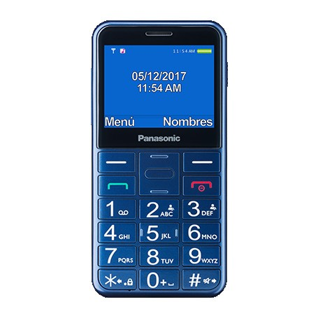 "Movil Panasonic Kx-Tu150exc 2.4"" Bluetooth Azul"