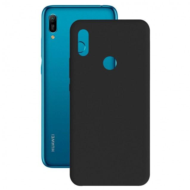 Funda Silk  Ksix Tpu Huawei Y6/Y6s 2019 Negra