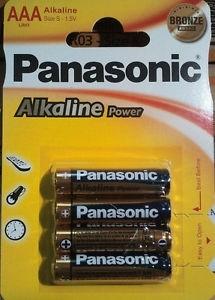 Pilas Alcalinas Panasonic  1.5v  Lr03 Ap ( 4-Blis