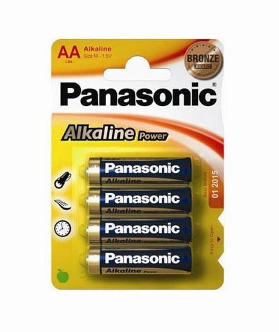 Pilas Alcalinas Panasonic  1.5v  Lr6 Ap ( 4-Blis