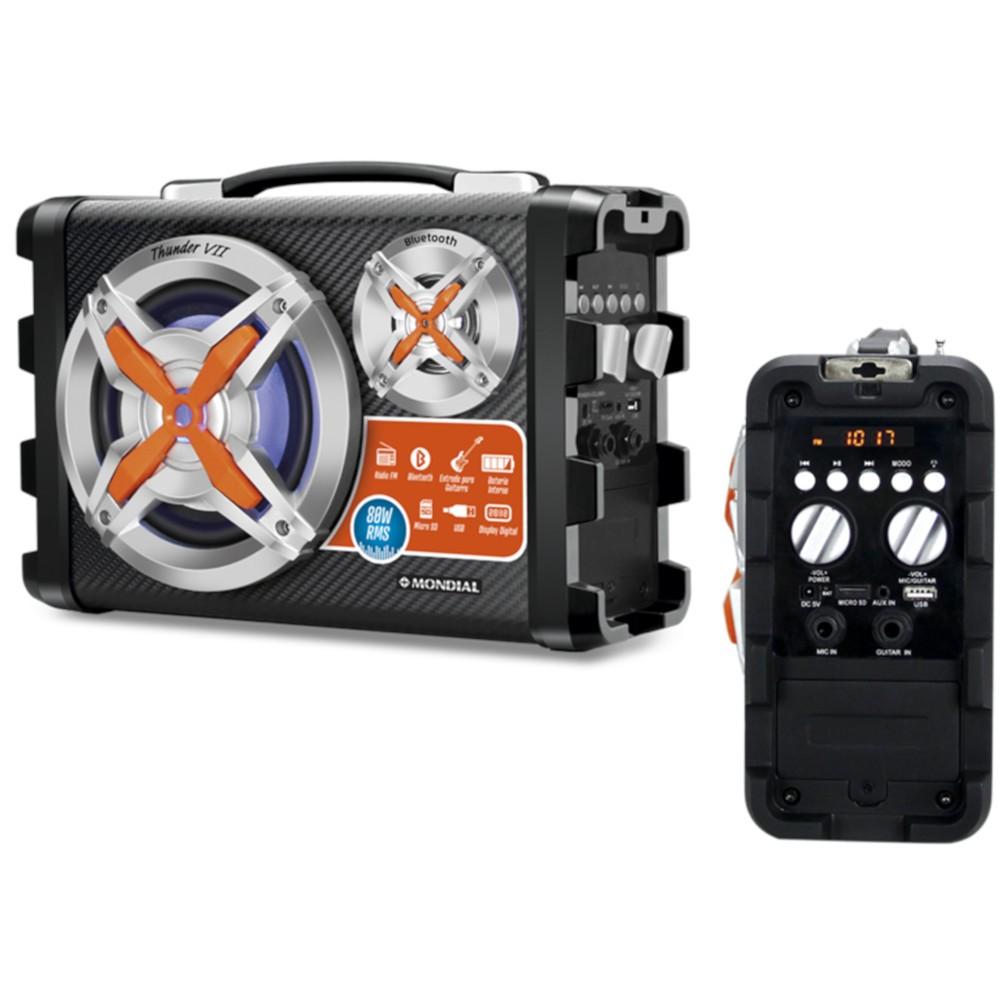 Altavoz Amplificador Mondial Mco07 Bluetooth