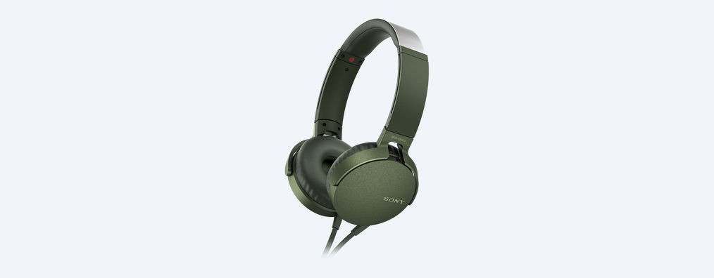 Auricular Diadema Sony Mdr-Xb550apb Negro Micro