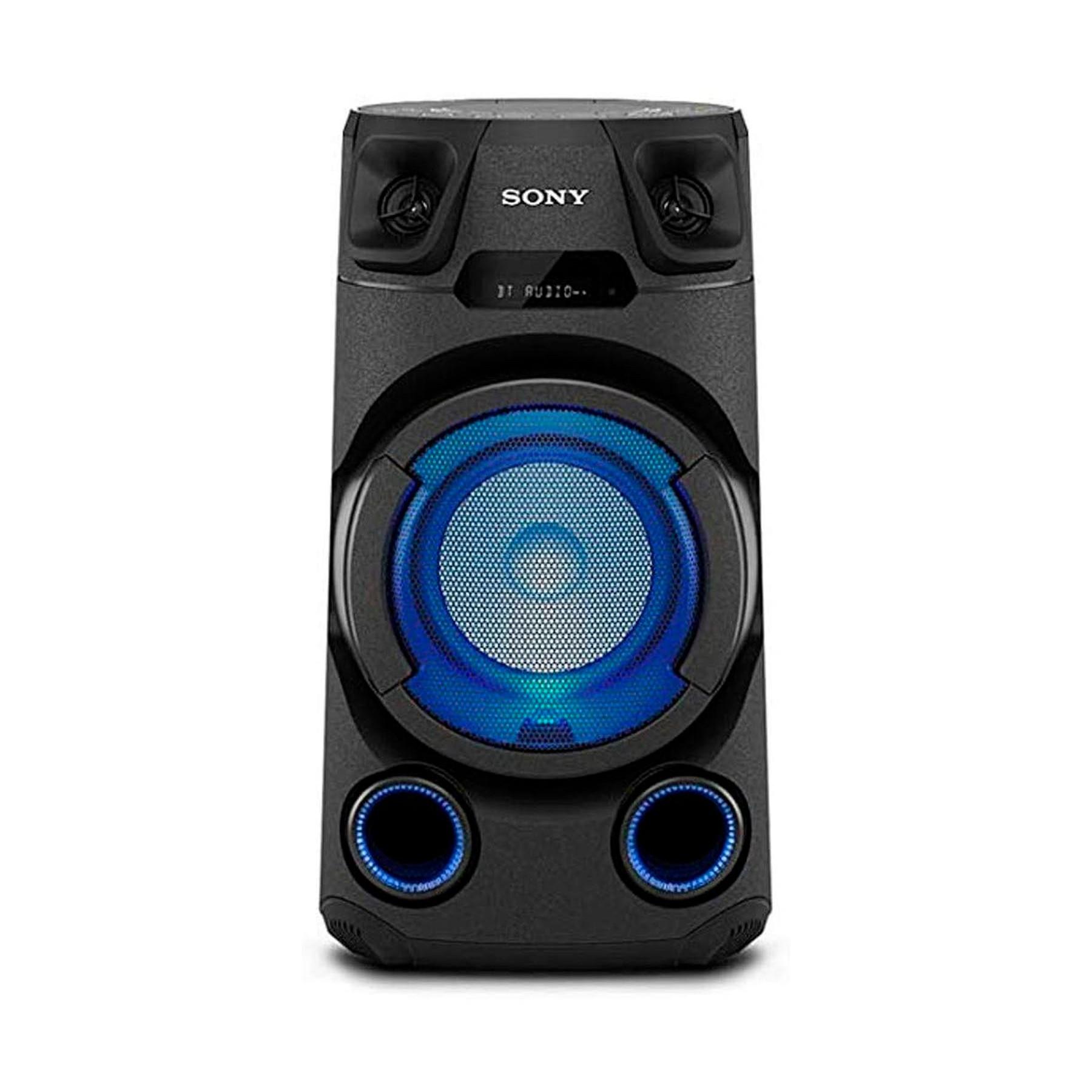 Altavoz Torre Sony Mhcv13.Cel Bluetooth Negro