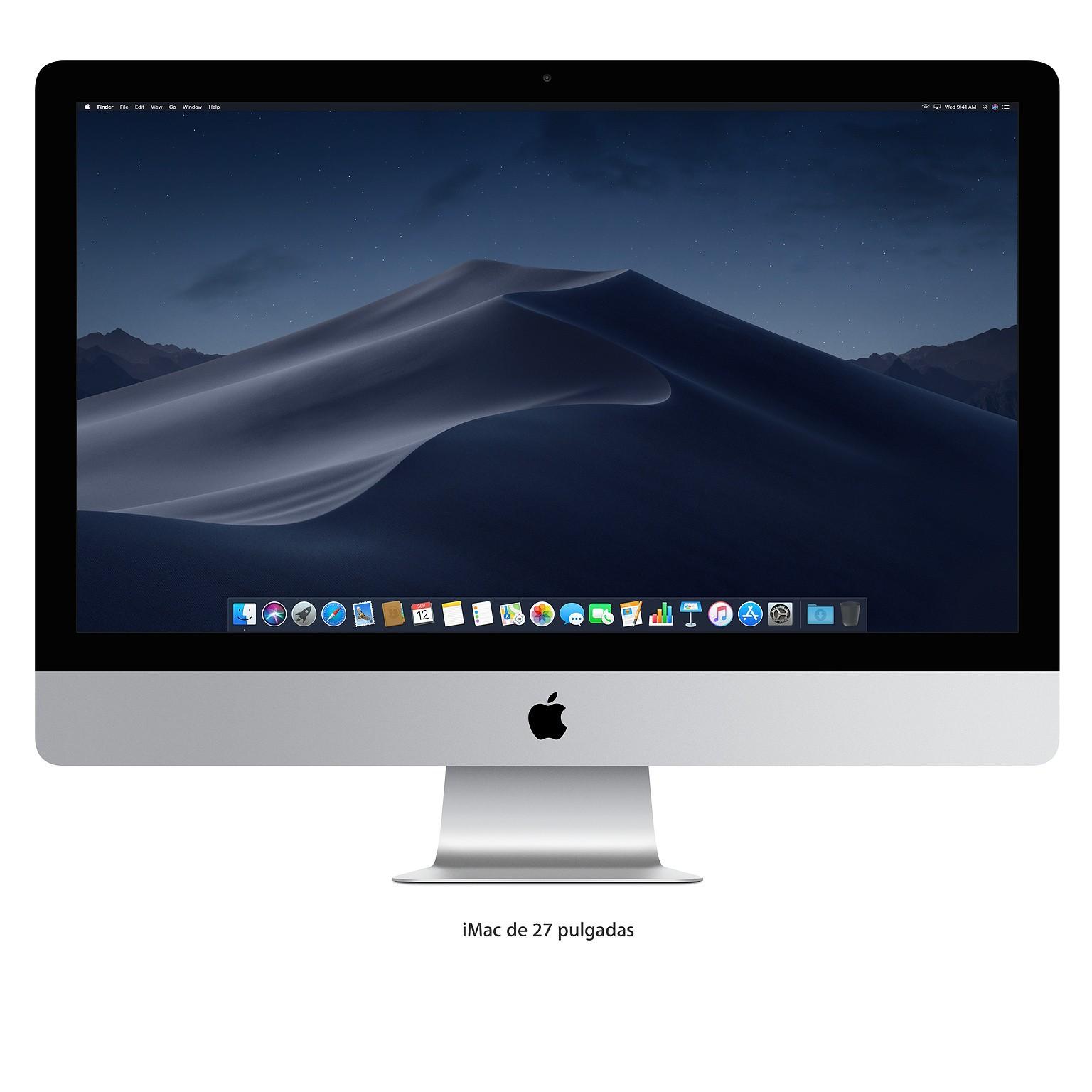 "Ordenador Sobremesa Apple Imac 27"" 5k Intel Core I5 8gb 1tb Radeon Pro 575"