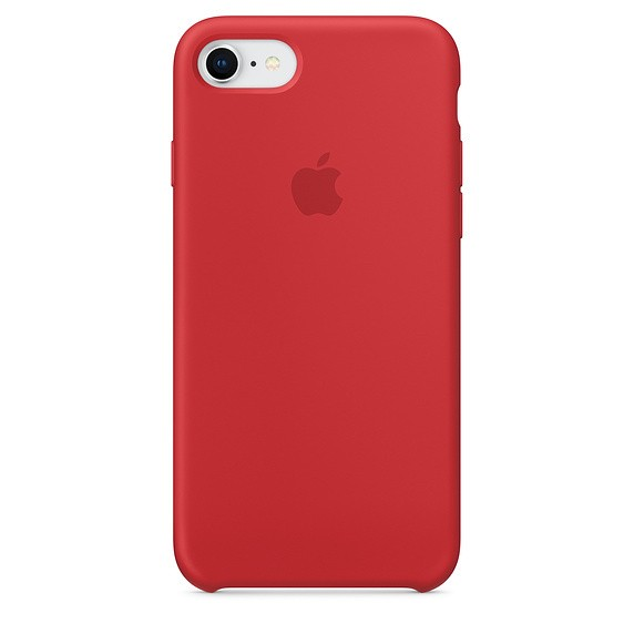 Funda Apple Iphone 8/7 Silicona Roja