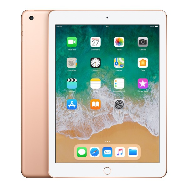 "Ipad 9.7"" 2018 128gb Wifi Oro"