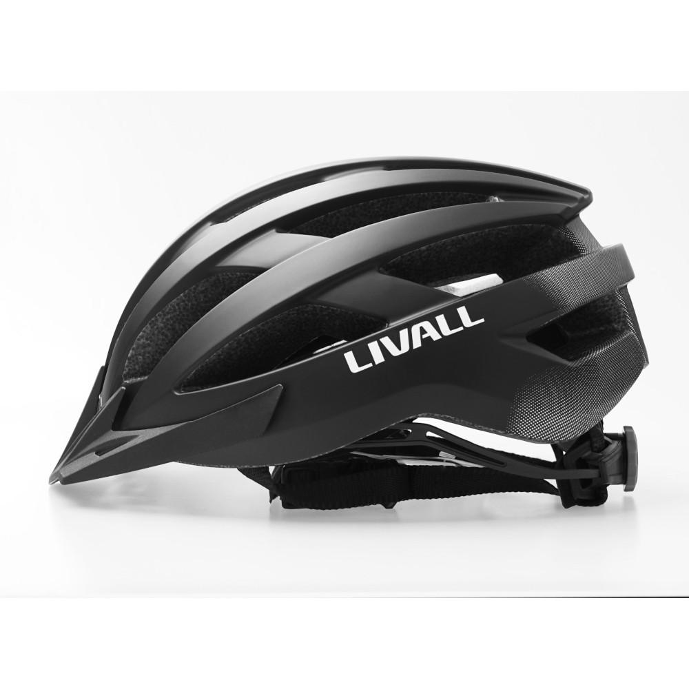 Casco Btt Livall Mt1/Lbk Talla L (58-62cm) Negro