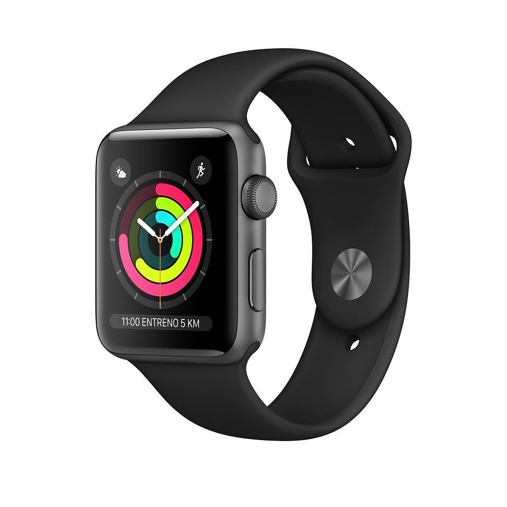 Apple Watch Serie 3 Gps 38mm Alumini Correa Negra Mtf02ql/A