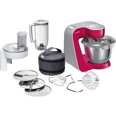 Robot Cocina Bosch Mum58420 Rojo/Plata 1000w