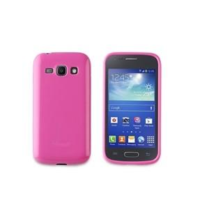 Funda Minigel Rosa Muvit Samsung Galaxy Ace3