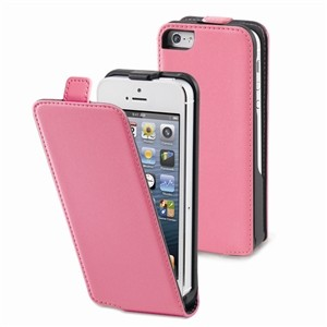 Funda Slim Rosa Iphone 5 Muvit