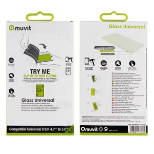 Glass Muvit Universal 0.33mm 5.0''