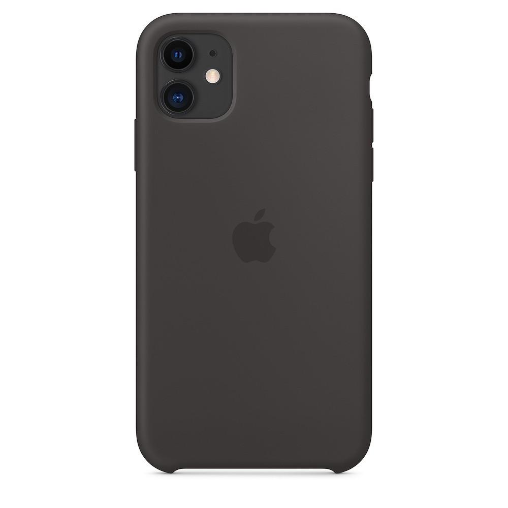 Funda Apple Iphone 11 Silicona Negra
