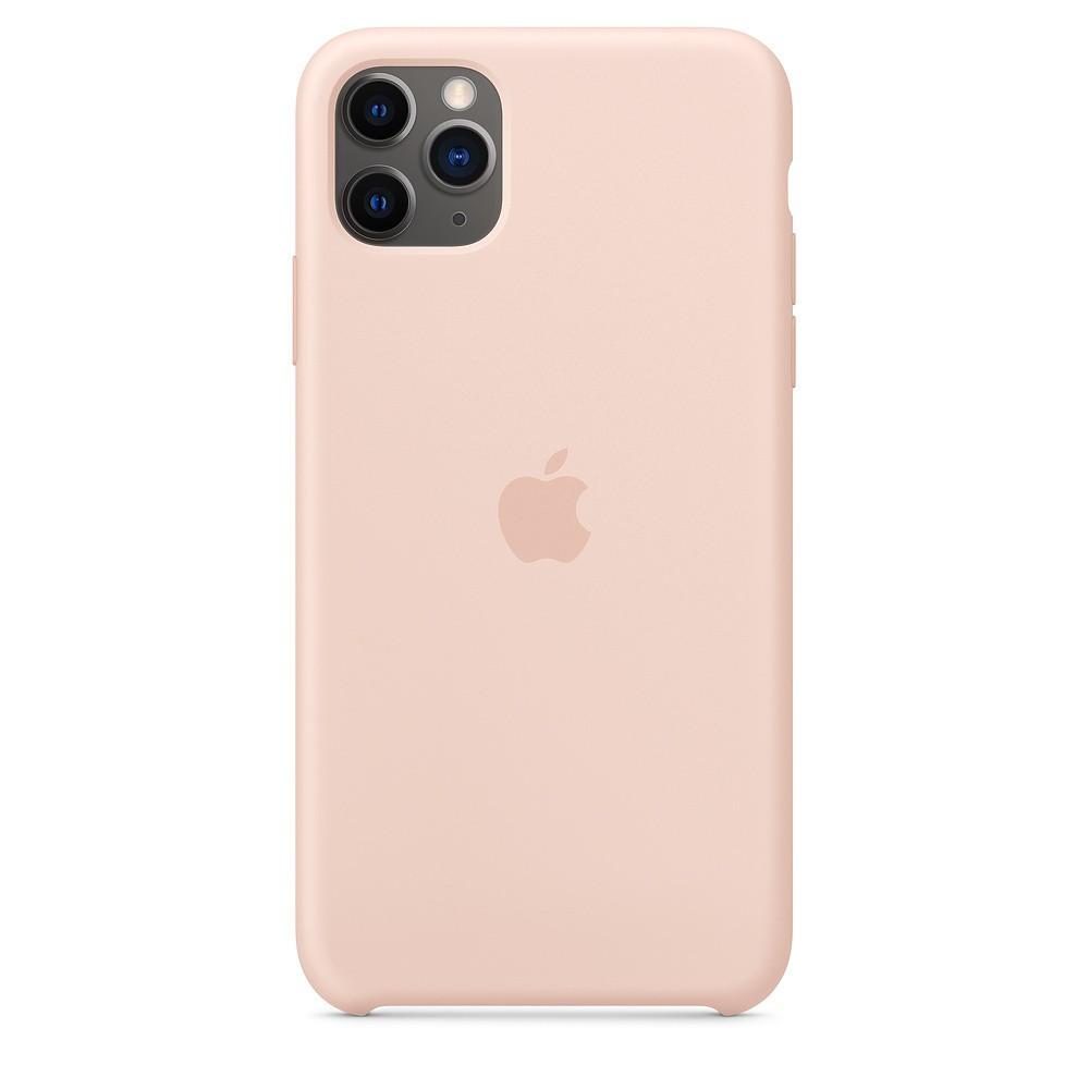 Funda Apple Iphone 11 Pro Max Silicona Rosa