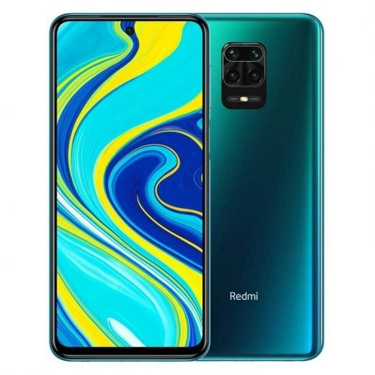 "Movil Xiaomi Redmi Note 9s 6,67"" Fhd+ Octacore 6gb 128gb Aurora Blue"