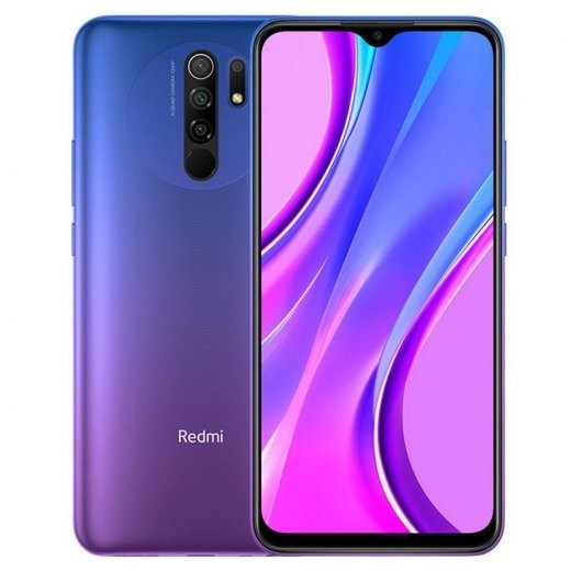 "Movil Xiaomi Redmi 9 Eea 6,53"" Fhd Octacore 4+64gb Lila"