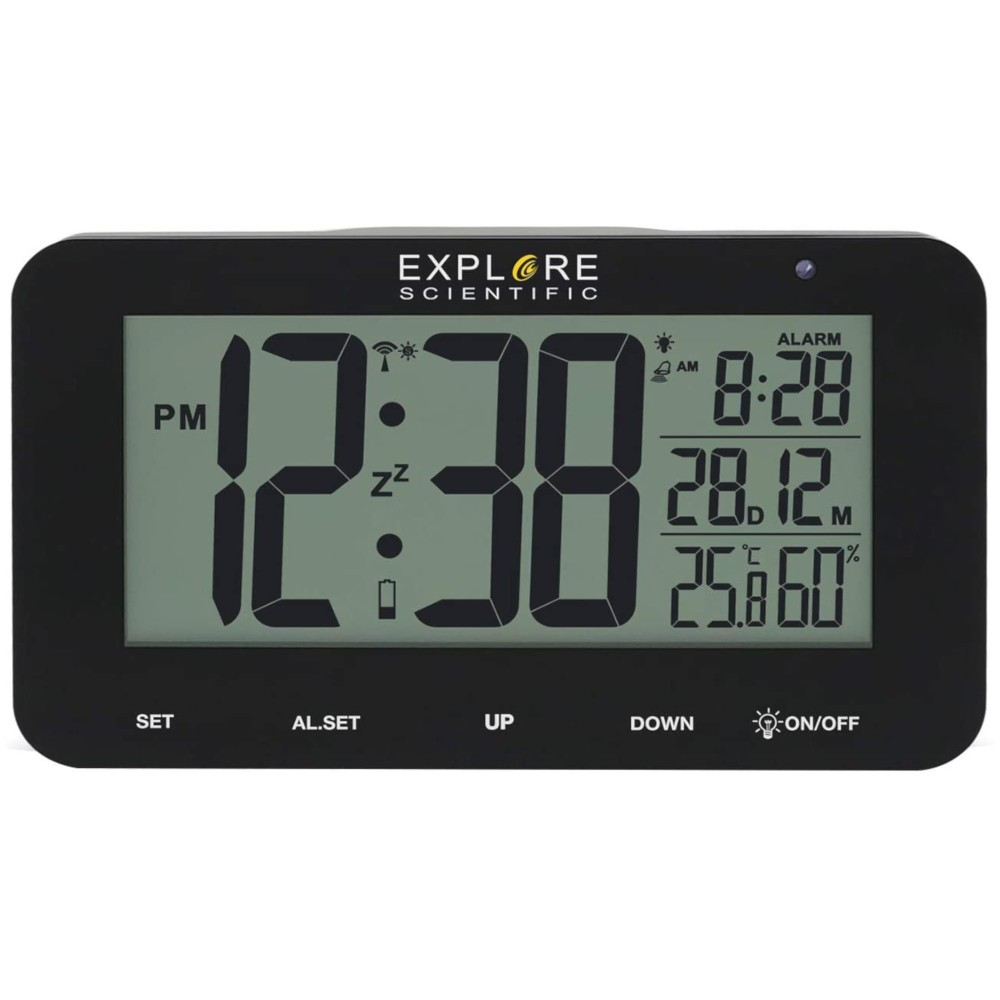 Reloj Despertador Explorer Scientific Ndc1004 Negro