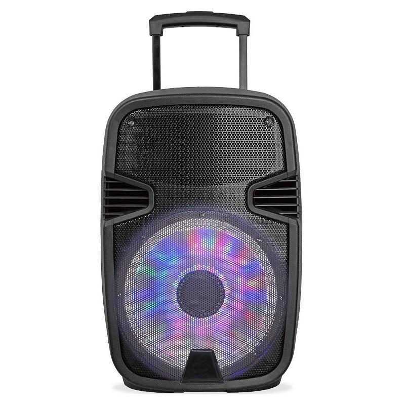 "Altavoz Portatil Sakkyo Npl2210dsp 10"" Bateria Recargable 45w Rms Bluetooth"