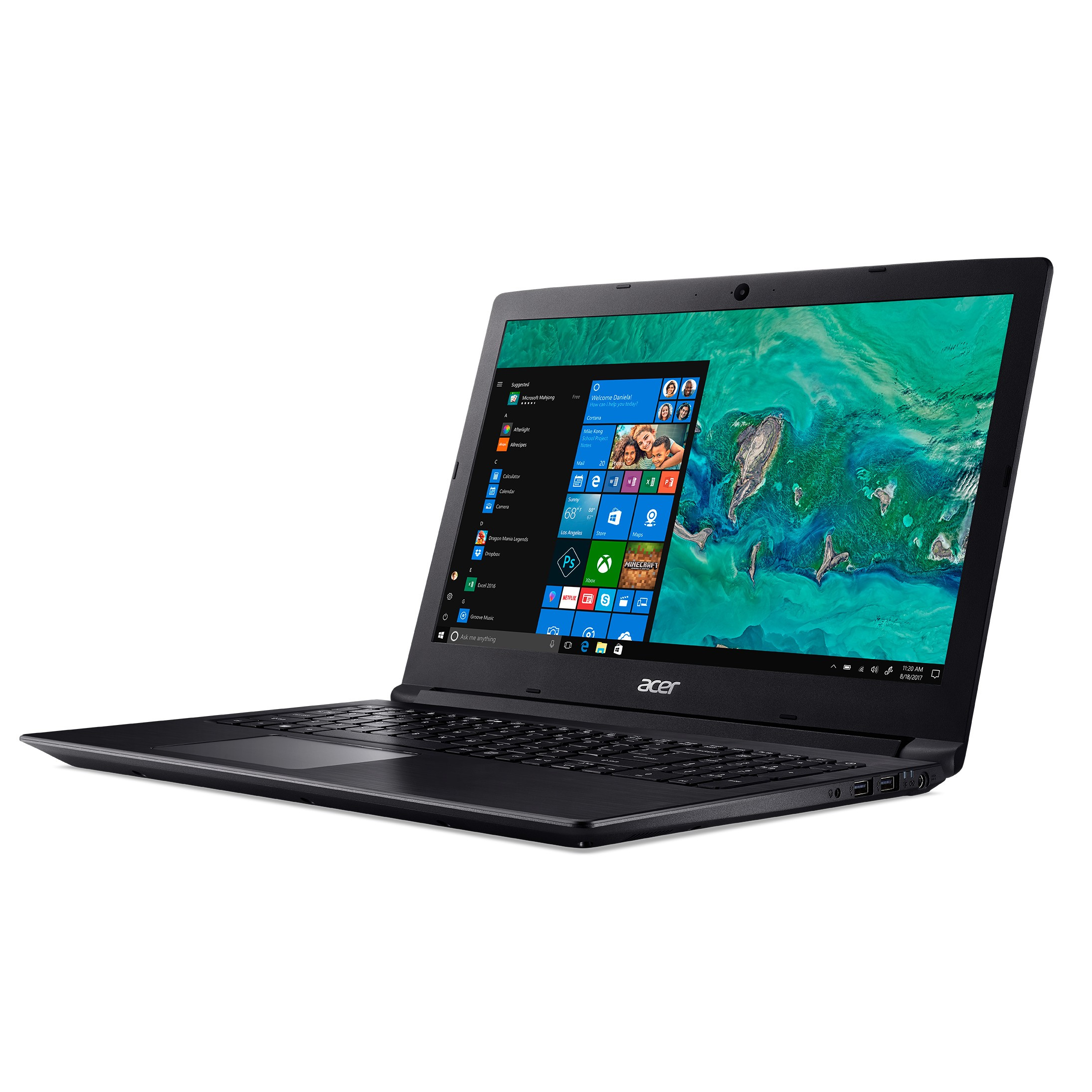 "Ordenador Port Acer Aspire 3 A315-53-3328 15.6"" Hd Intel Core I3-7020u"