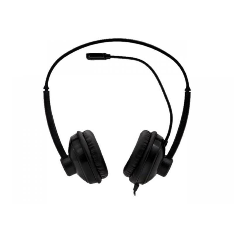 Auriculares Diadema Nilox Estereo Microfono Usb
