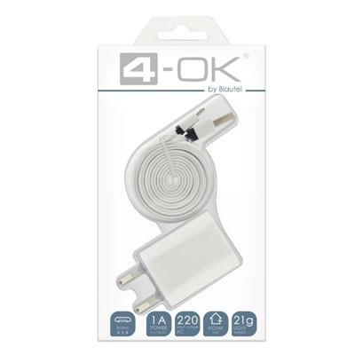 Pack Blautel Adaptador Carga+usb A Micro Datos