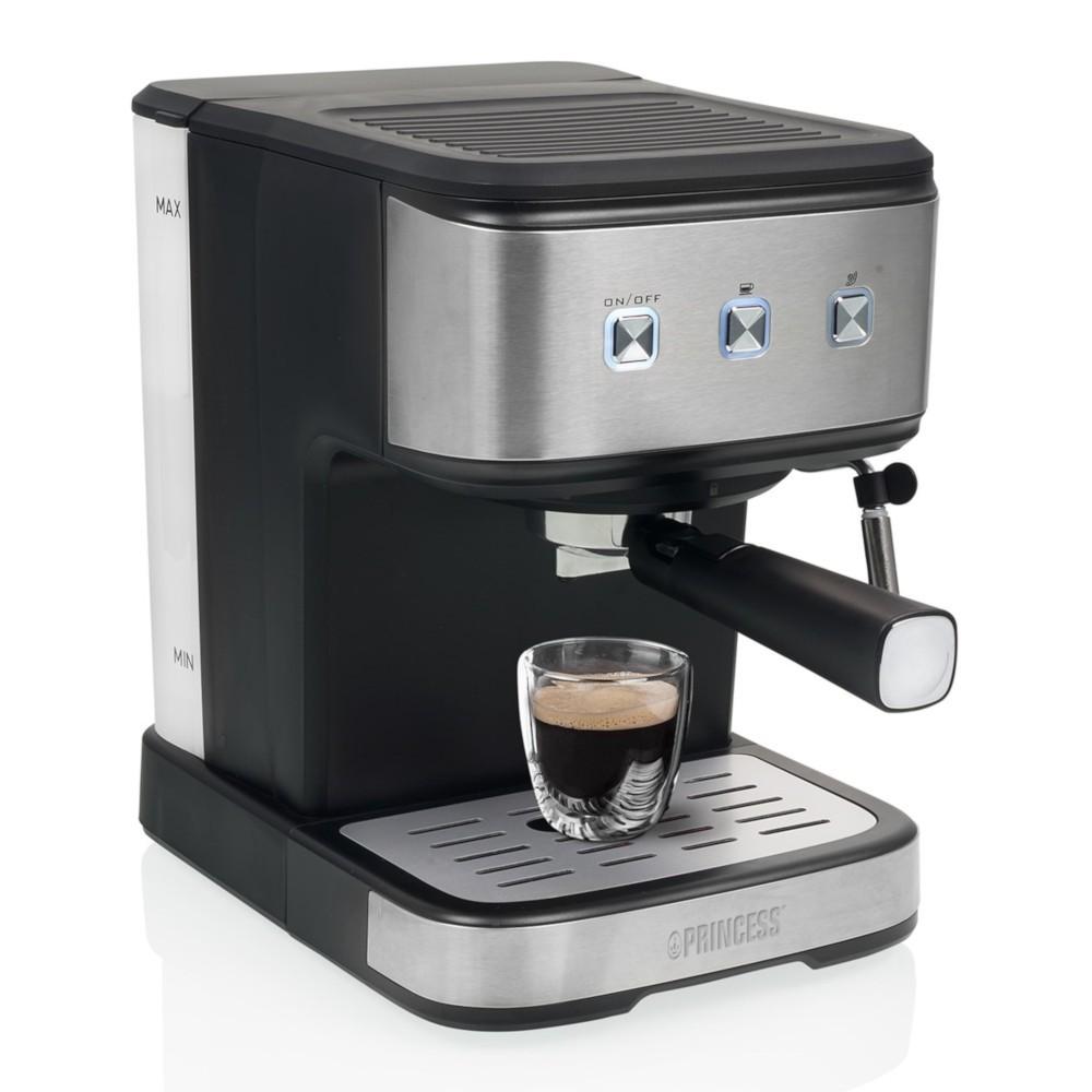 Cafetera Express Princess Ps249413 20 Bares Inox 1.5l