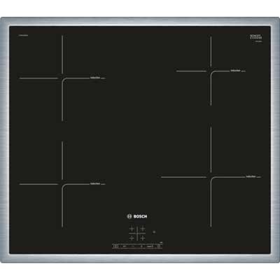 Placa Inducción Bosch Pue645bb1e 4f 60cm Inox
