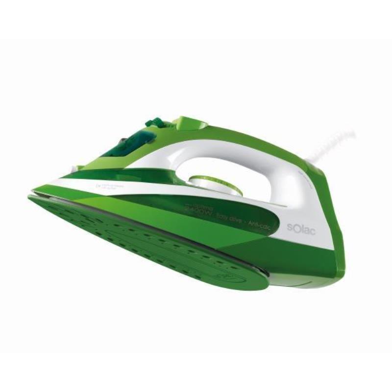 Plancha Vapor Solac Pv2107 Optima Green 2400w